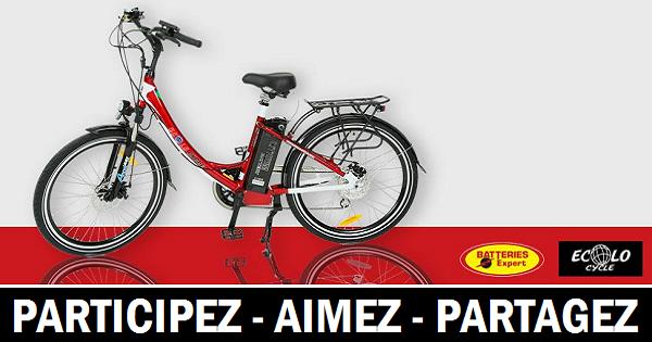 concours gagner vélo électrique