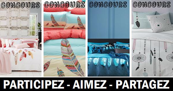 concours gagnez un ensemble de literie plumes concours en ligne qu bec. Black Bedroom Furniture Sets. Home Design Ideas