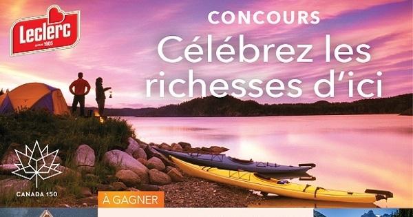 Concours Gagnez un séjour familial dans l'un des parcs nationaux de Parcs Canada!