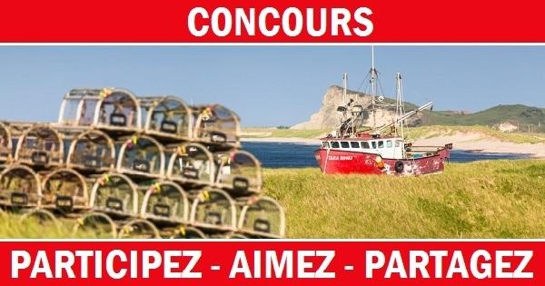 Concours Gagnez un séjour mémorable pour 2 personnes aux Îles de la Madeleine!