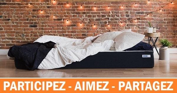 concours gagnez un matelas zzak dans la taille de votre choix. Black Bedroom Furniture Sets. Home Design Ideas