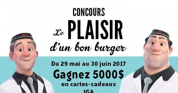 Concours Gagnez 5000$ en Cartes-Cadeaux IGA