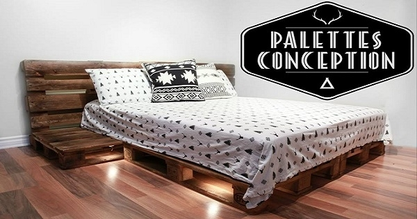 concours gagnez un ensemble de lit complet de chez palettes conception. Black Bedroom Furniture Sets. Home Design Ideas