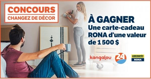 concours gagnez une carte cadeau rona d une valeur de 1500 concours en ligne qu bec. Black Bedroom Furniture Sets. Home Design Ideas