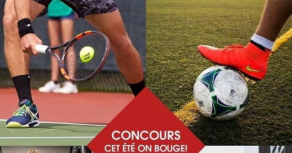 Concours Gagnez un chèque de 200$ destiné à l'inscription à une activitée sportive de votre choix!