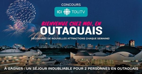 Concours Gagnez un séjour inoubliable pour deux personnes en Outaouais!
