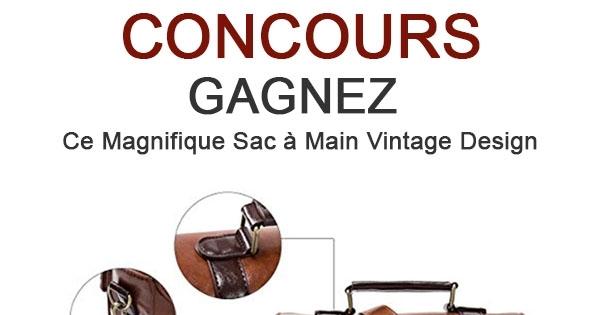 Concours Sac à Main Vintage Design