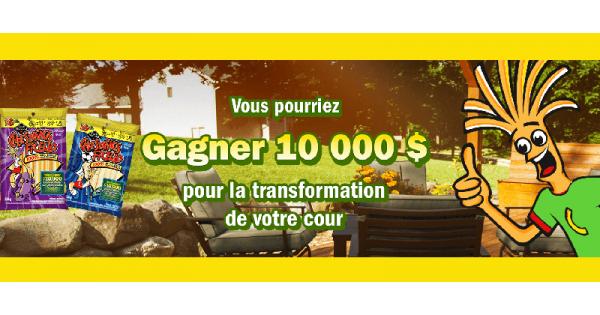Concours GAGNEZ 10 000$ POUR LA TRANSFORMATION DE VOTRE COUR!