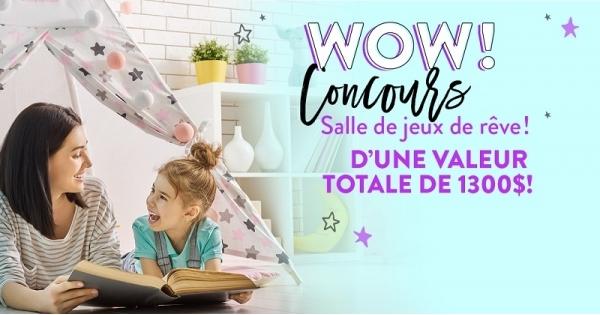 Concours GAGNEZ UNE SALLE DE JEUX DE RÊVE !