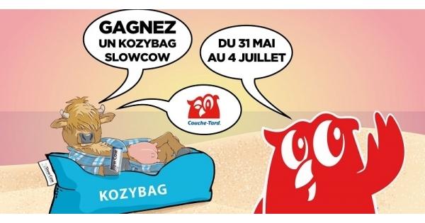 Concours Gagnez un  Kozybag Slow Cow d'une valeur de 80$!