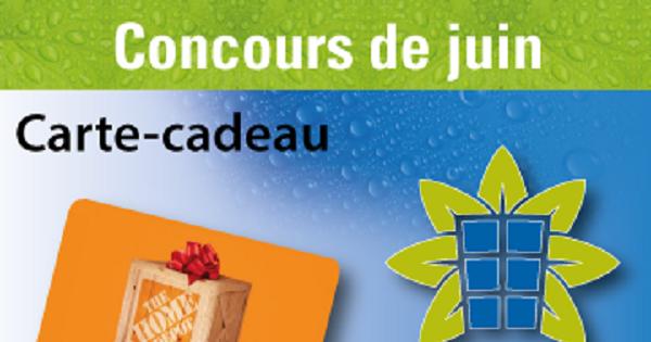 Concours Gagnez une carte-cadeau Home Dépôt de 50 $