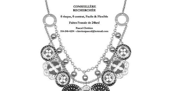 Concours Gagnez le collier Stéphanie de Tocara!