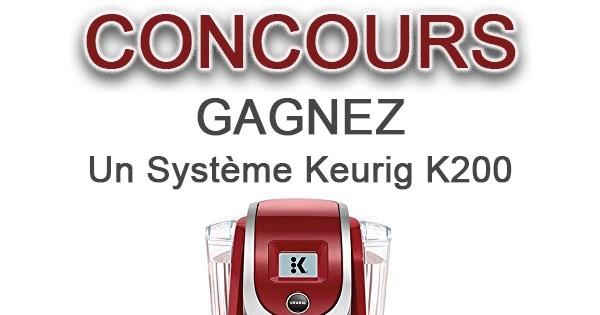 Concours Keurig K200