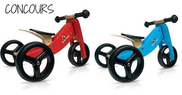 concours gagnez une draisienne 3 roues en bois 39 39 tiny tot 39 39 de la couleur de votre choix. Black Bedroom Furniture Sets. Home Design Ideas