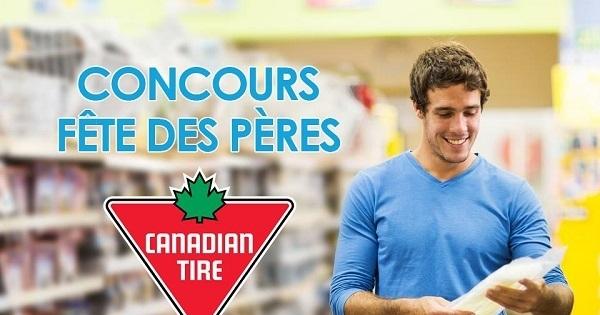 Concours Gagnez un certificat-cadeau d'une valeur de 100$ au Canadian Tire!