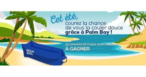 Concours Gagnez l'un des 30 canapés de plage gonflables!