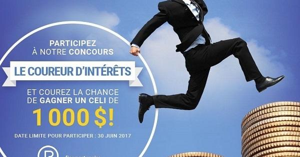 Concours Gagnez 1000$ en CELI grâce a Question Reraite!