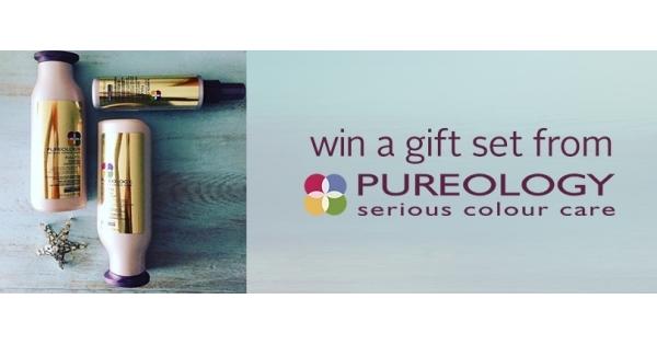 Concours Gagnez un ensemble-cadeau de produits Pureology!
