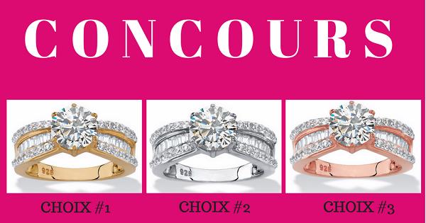 Concours Gagnez une magnifique bague offerte par Bijoux Escargot!