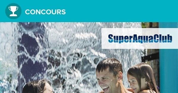 Concours Gagnez 4 passes au parc aquatique Pointe-Calumet!