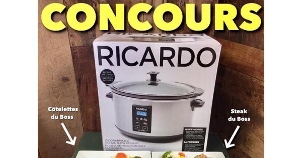 Concours gagnez des produits exclusifs du boss concours - Ricardo cuisine concours ...