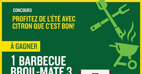 Concours Gagnez un barbecue Broil-Mate 3!