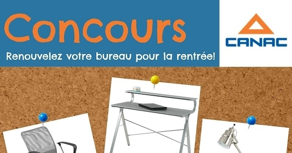 concours gagnez ces trois articles pour meubler votre bureau. Black Bedroom Furniture Sets. Home Design Ideas