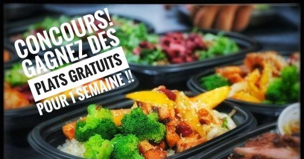Concours gagnez des repas sant s pour 1 semaine pour vous for Repas pour recevoir des amis