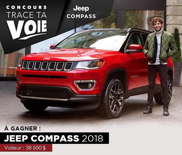concours gagnez un jeep compass 2018 concours en ligne qu bec. Black Bedroom Furniture Sets. Home Design Ideas