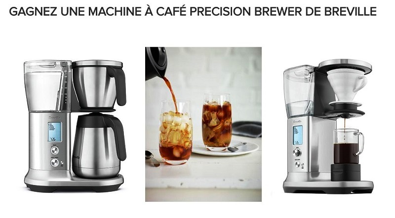 concours gagnez une machine caf precision brewer de. Black Bedroom Furniture Sets. Home Design Ideas