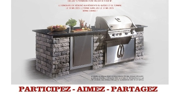 Concours ma cuisine sous le soleil concours en ligne qu bec for Cree ma cuisine en ligne