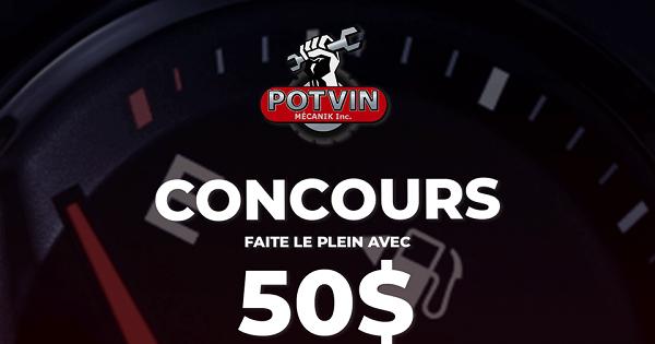 Concours Gagnez 50$ d'essence chez Petro-Canada!