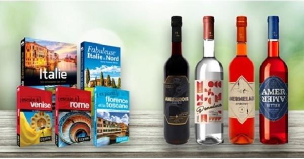 Concours Gagnez 4 bouteilles de spiritueux d'inspiration italienne ainsi que  5 livres de voyage sur l'Italie!
