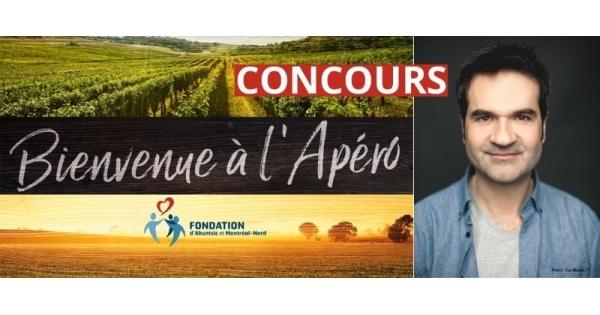 Concours Gagnez une participation à l'événement virtuel Bienvenue à l'Apéro de la Fondation d'Ahuntsic et Montréal-Nord!