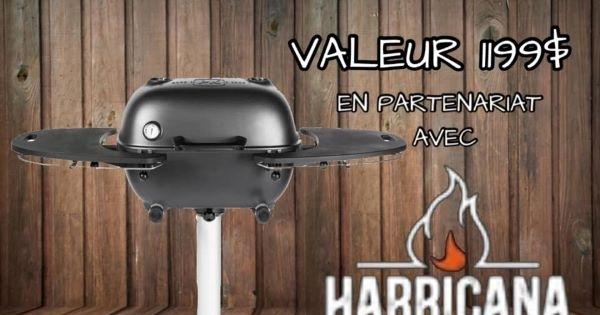 Concours Gagnez le PK360, un incroyable BBQ au charbon d'une valeur de 1199$!