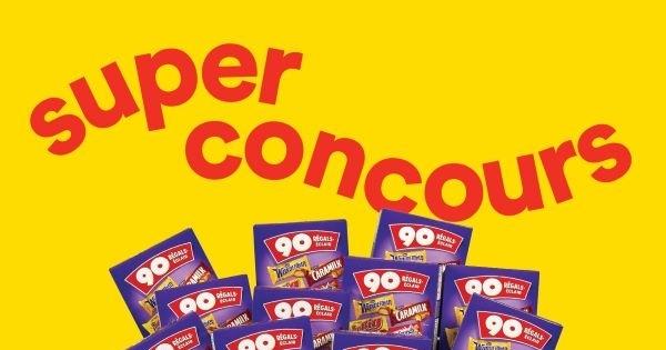 Concours Gagnez un immense panier de chocolats offert par Super C!
