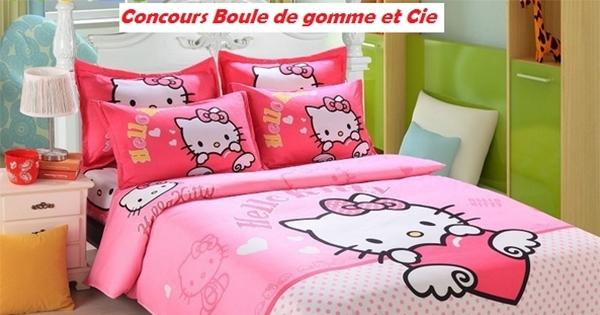 concours remporter un ensemble de lit hello kitty concours en ligne qu bec. Black Bedroom Furniture Sets. Home Design Ideas