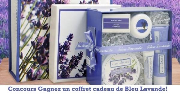 concours gagnez un coffret cadeau de bleu lavande concours en ligne qu bec. Black Bedroom Furniture Sets. Home Design Ideas