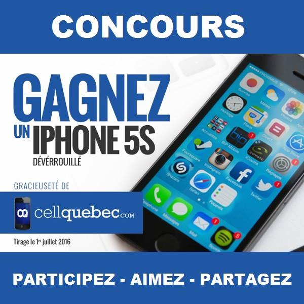 gagner un iphone 5s belgique