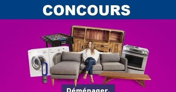 Concours gagnez l 39 un des 11 meubles pr choisis for Meuble en ligne quebec