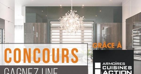 Concours gagnez une nouvelle cuisine gr ce armoires - Armoire sur mesure en ligne ...