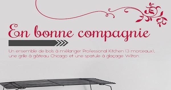 Concours gagnez un joli ensemble d accessoires de for Accessoire cuisine en ligne