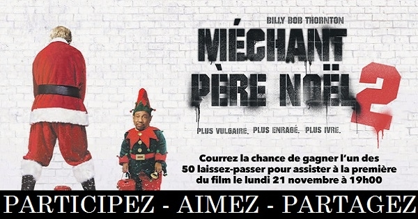 Concours assistez la premi re du film m chant p re no l for Le pere du meuble montreal