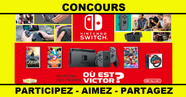 concours gagnez 1 des 3 consoles nintendo switc. Black Bedroom Furniture Sets. Home Design Ideas