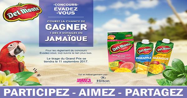 Concours Gagnez un voyage en Jamaïque!